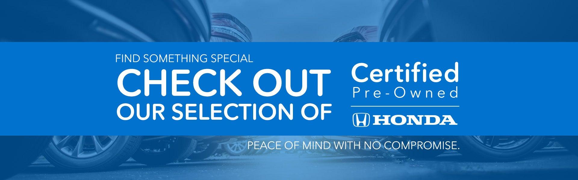 Why Buy Cpo Honda Certified Pre Owned Benefits Clinton Honda